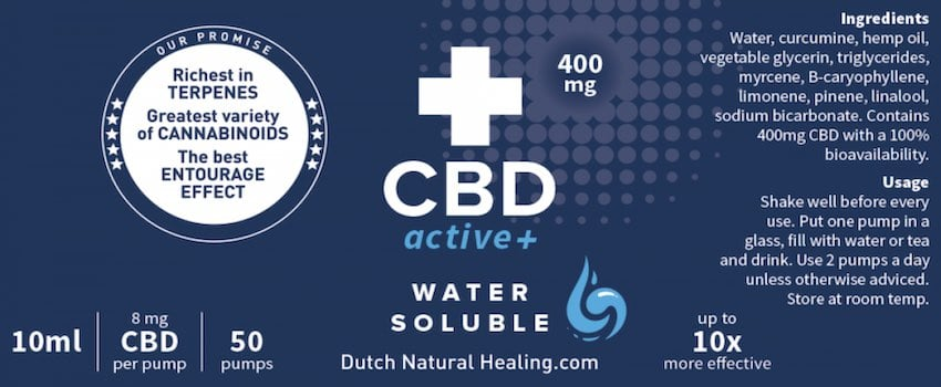 Dutch Natural Healing CBDactive+