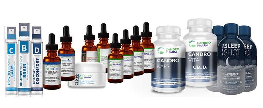Produkte von Candropharm