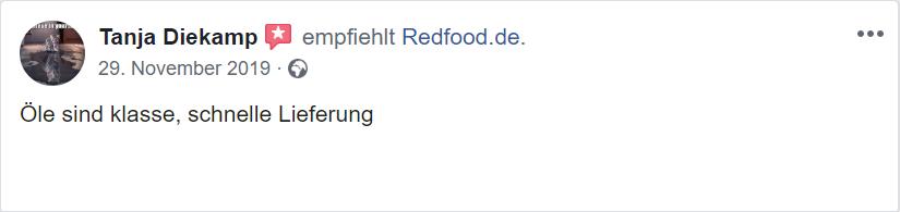 siebter Erfahrungs Redfood