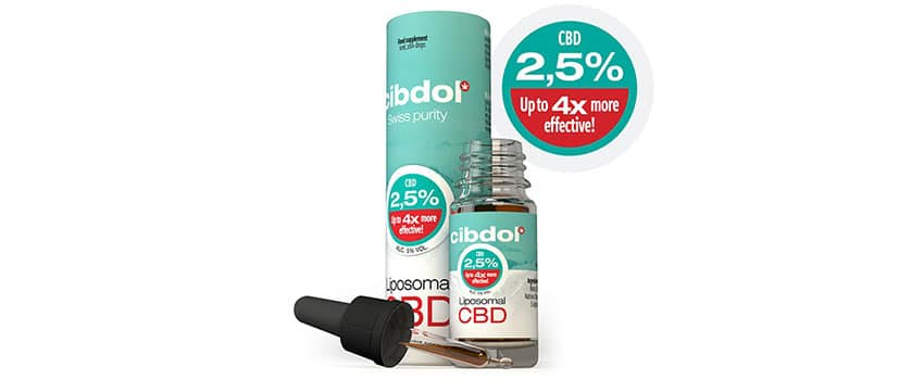 Liposomales CBD Öl von Cibdol